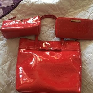 Kate Spade Purse, Wallet and makeup bag
